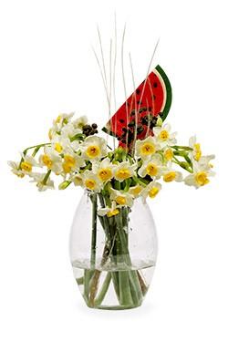 خرید پکیج گل یلدای شادان