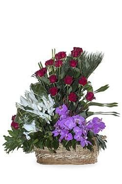 خرید سبد گل آماندا