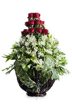 خرید سبد گل همای