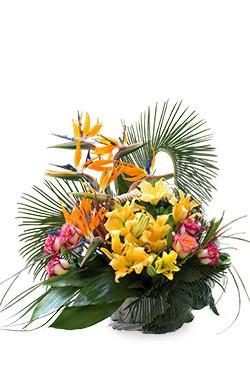 خرید سبد گل بهنوش