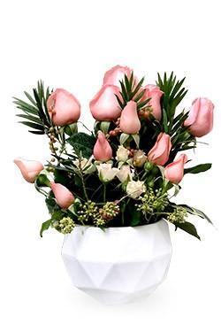خرید سبد گل سمن