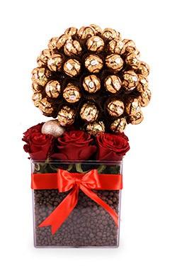 خرید باکس گل سوگند